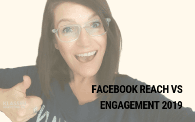 Facebook Reach vs Engagement 2019